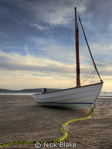 Waiting for the tide, Abersoch, North Wales by Nick Blake 